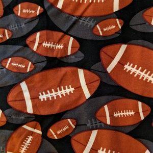 Leggings Depot Pants - Football Print Leggings with 3